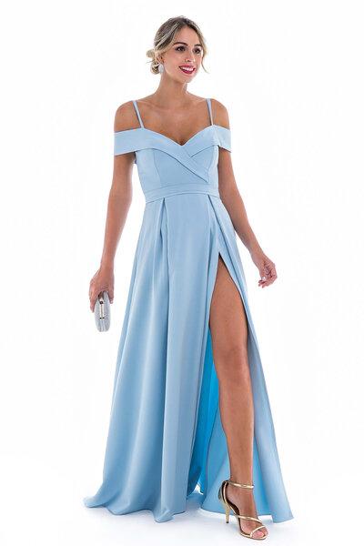 Vestido longo merlyn