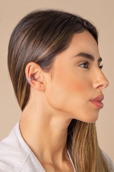 Piercing fake liso vazado (unitario)