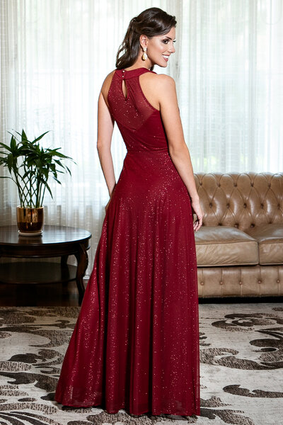 Vestido longo bella