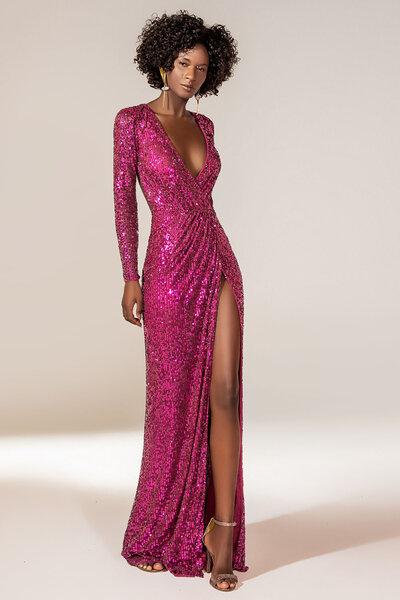 Vestido longo Ariadna