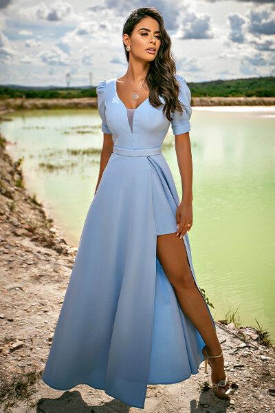 Vestido longo alessa