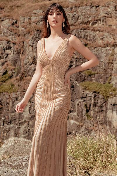 Vestido longo Angelita