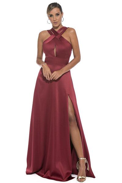 Vestido longo verona