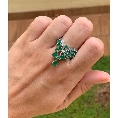 Anel Deuso verde