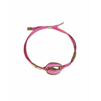Pulseira Buzios rosa petit