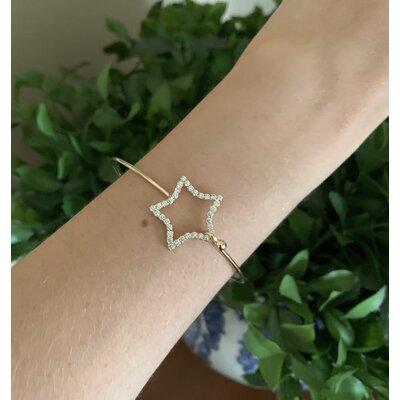Bracelete Estrela ouro