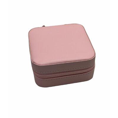 Porta Joias portátil rosa