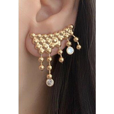 Ear Cuff Bella ouro
