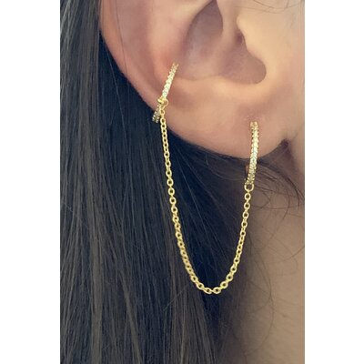 Argolinha + piercing ouro