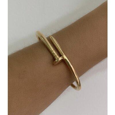 Bracelete Prego ouro