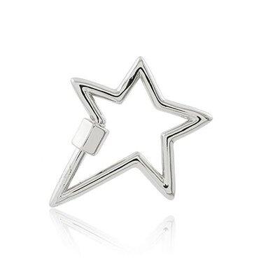 Mosquetão Star ródio