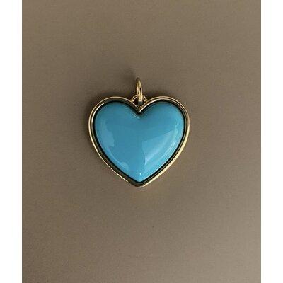 Coração azul