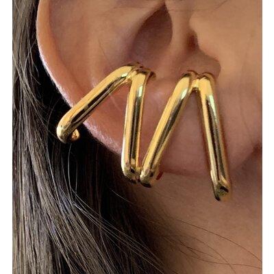 Ear Cuff Karen Maxi liso