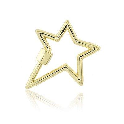 Mosquetão Star ouro