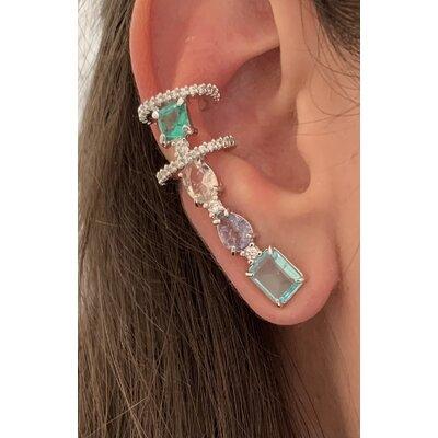 Ear Cuff Poderoso Color ródio