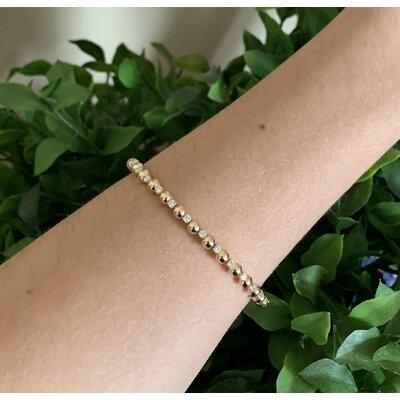Bracelete Liz ouro