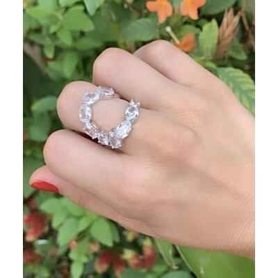 Anel Pedras Cristal