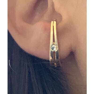 Ear Hook PL ouro