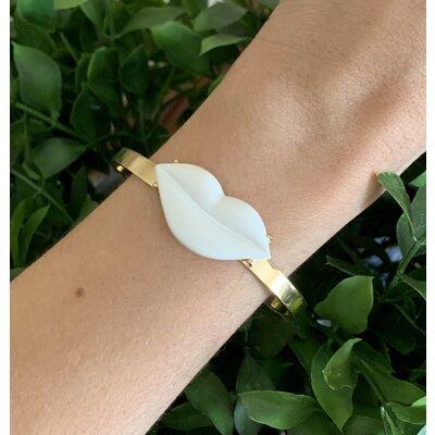 Bracelete Boca branca