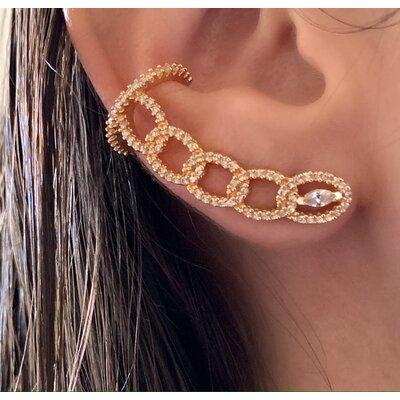 Ear Cuff TT ouro