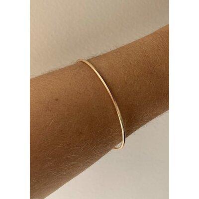 Bracelete Liso ouro fino