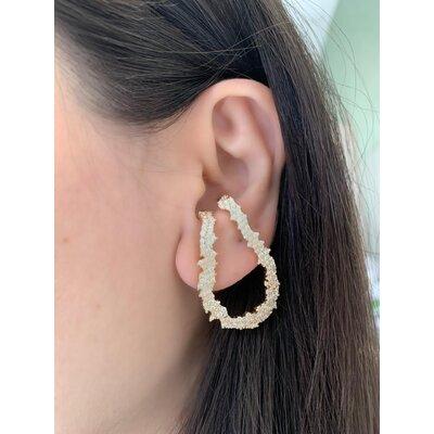 Ear Hook Argol frontal ouro