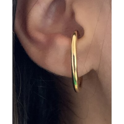 Ear Hook simple ouro