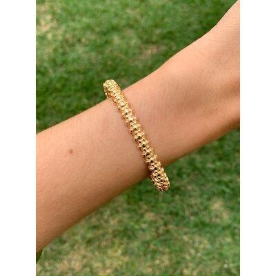 Bracelete Trabalhado ouro