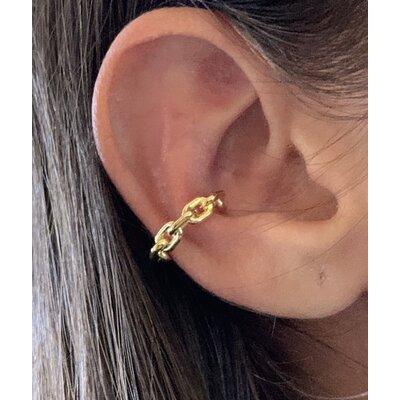 Piercing corrente ouro