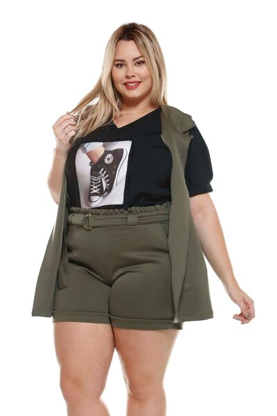 SHORT PLUS SIZE NEOPRENE