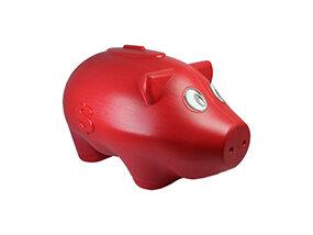 Cofre Porco Médio <br> (23cm) <br> Cód: 336
