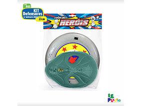 Kit Defensores com Máscara Ninja <br> (23cm) <br> Cód: 045