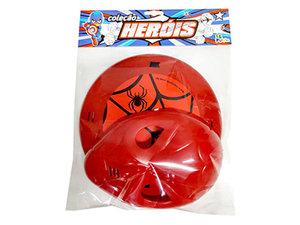 Kit Defensores Vermelho <br> (23cm) <br> Cód: 045