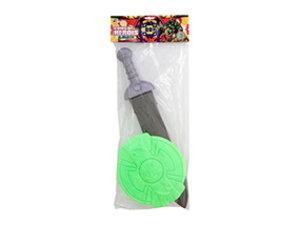 Escudo Gladiador com Espada <br> (60cm) <br> Cód: 992