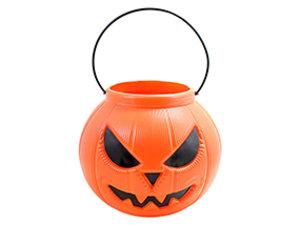 Abóbora Halloween <br> (18cm) <br> Cód: 404