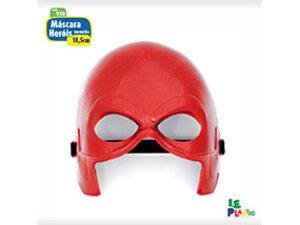 Máscara Heróis Vermelha <br> (18,5cm) <br> Cód: 930