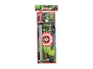 Kit Arqueiro com Espada Ninja <br>(47cm) <br> Cód: 343