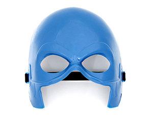 Máscara Heróis Azul <br> (18.5cm) <br> Cód: 930