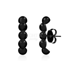Ear Hook Balls Black