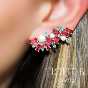 Ear Cuff Pérolas Colors