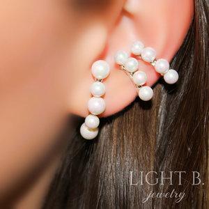 Ear Hook Pearls Classy