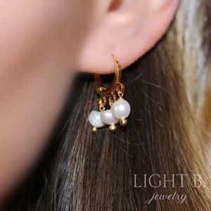 Argolinha Pearls Gold