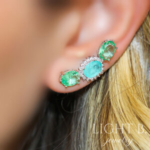 Ear Cuff Greenary