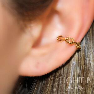 Piercing Falso Lock Gold (unidade)