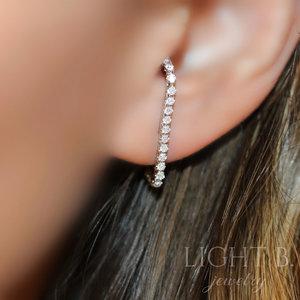 Ear Hook Zircônias