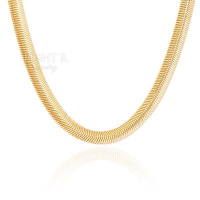 Colar Corrente Malha Thassia Gold 8MM