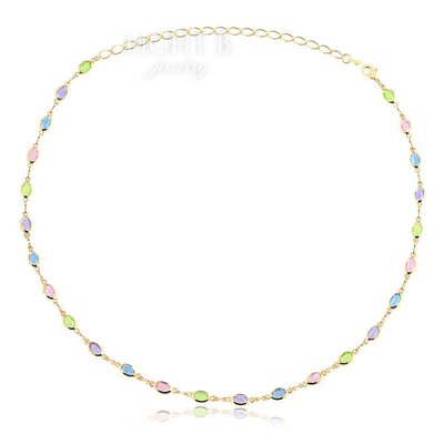 Choker Candy Colors Gold