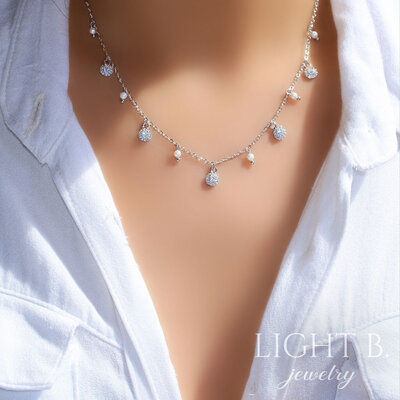 Gargantilha Pearls Classy