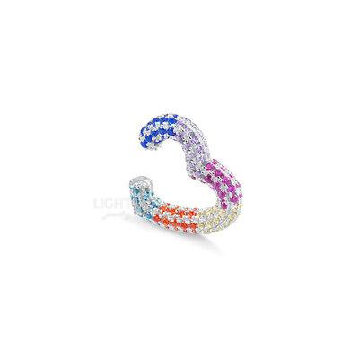 Piercing Falso Heart Rainbow (unidade)