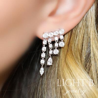Ear Cuff Life Franja Luxo